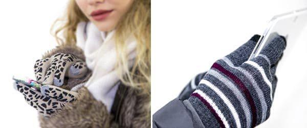 Accessori moda inverno: guanti touchscreen